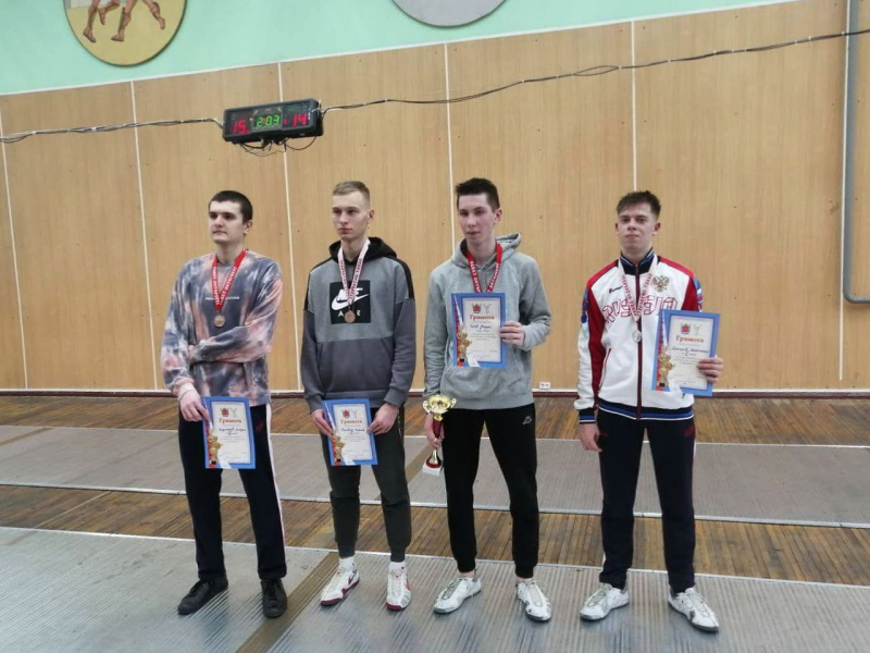St Petersburg Student Fencing Competitions