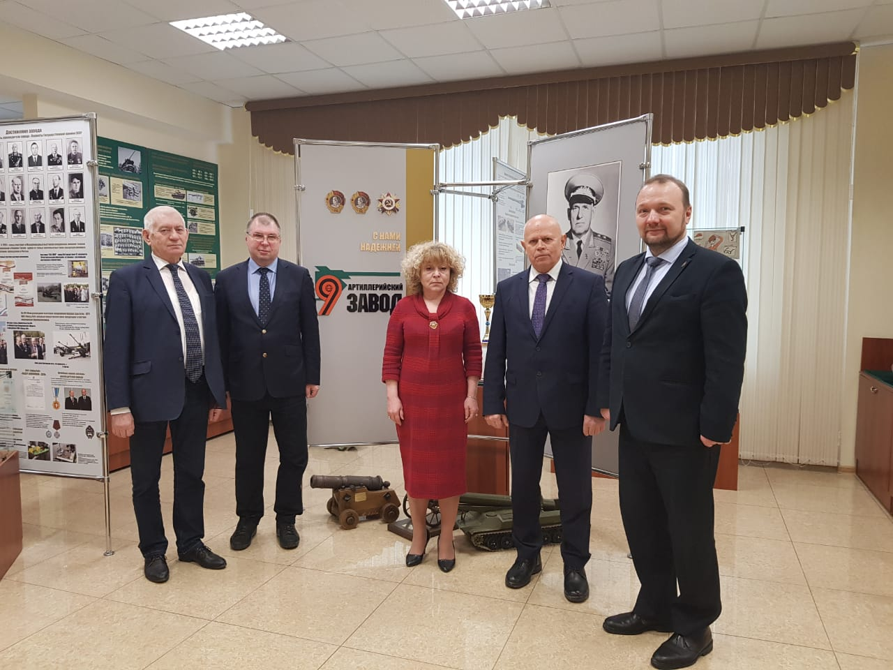 visit of the voenmeh at the enterprises of the defense industry in yekaterinburg 2